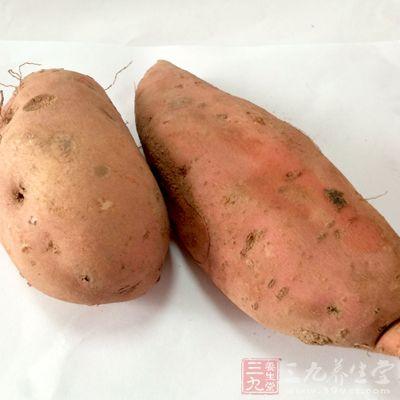 一个红薯含有大约60微克叶酸