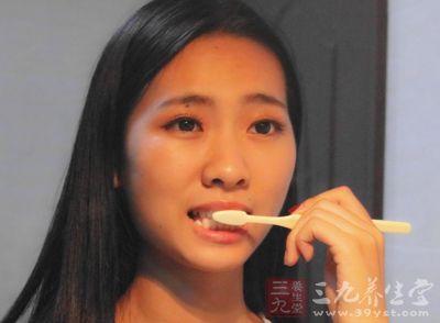 无效刷牙是每天走过场