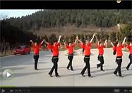 广场舞又见山里红叶子分解动作教学视频