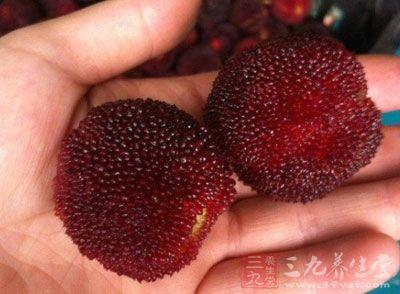 杨梅果实含有丰富的维生素C