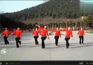 广场舞又见山里红叶子舞蹈分解视频教学