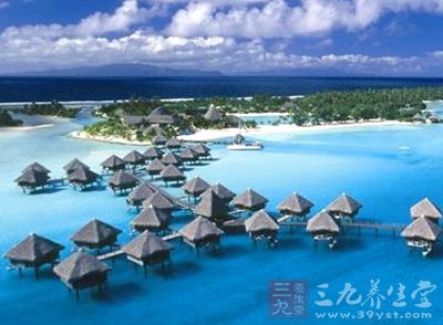 塔希提岛也是非常好的旅游度假场所