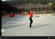 广场舞又见山里红背面动作分解教学视频