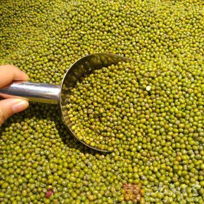 大米250g、绿豆100g