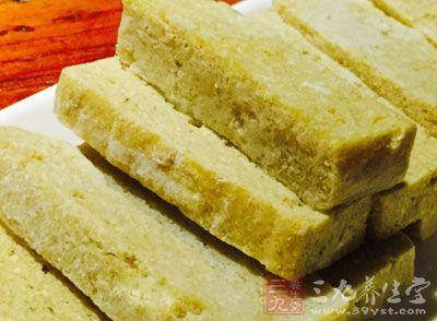 冻豆腐热量少无脂肪