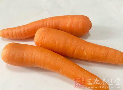 胡萝卜是我们大家经常吃的食物