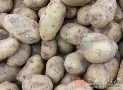 土豆能供给人体大量有特殊保护作用的黏液蛋白