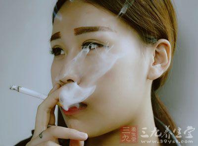 吸烟导致肺部疾病