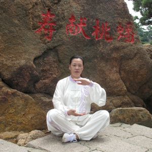 太←极拳教程 陈氏太极缠丝的练习方�Z法