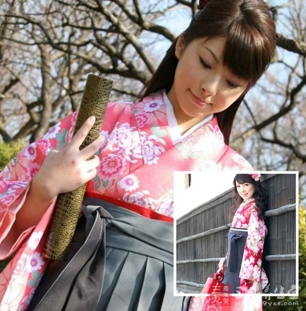 藏在日本女人和服里的秘密