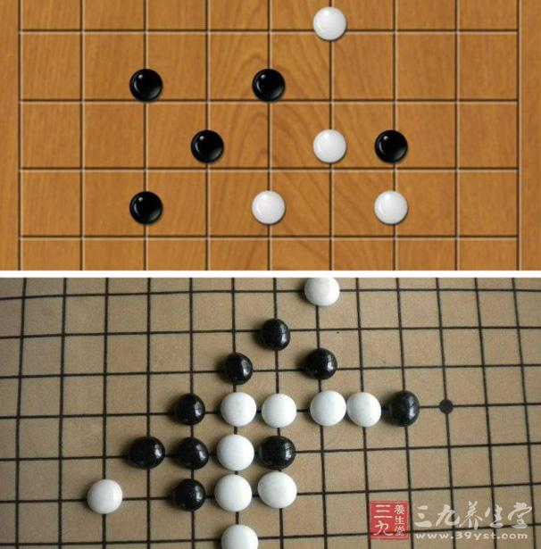五子棋规则 教你如何下五子棋图片