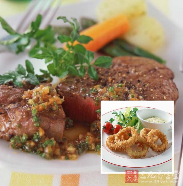 法式大餐图片