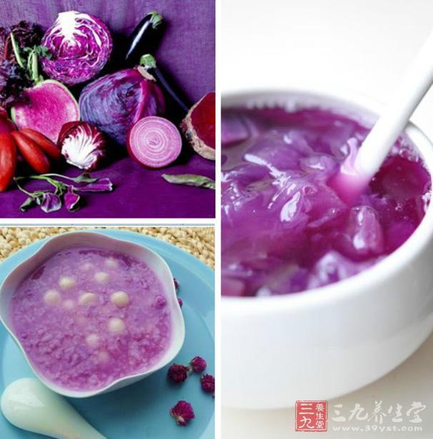 紫色的东西简笔画
