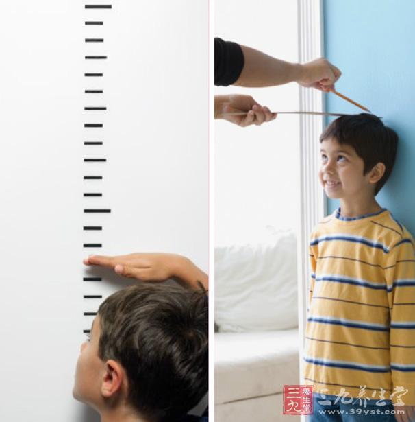 美国儿童身高对照表