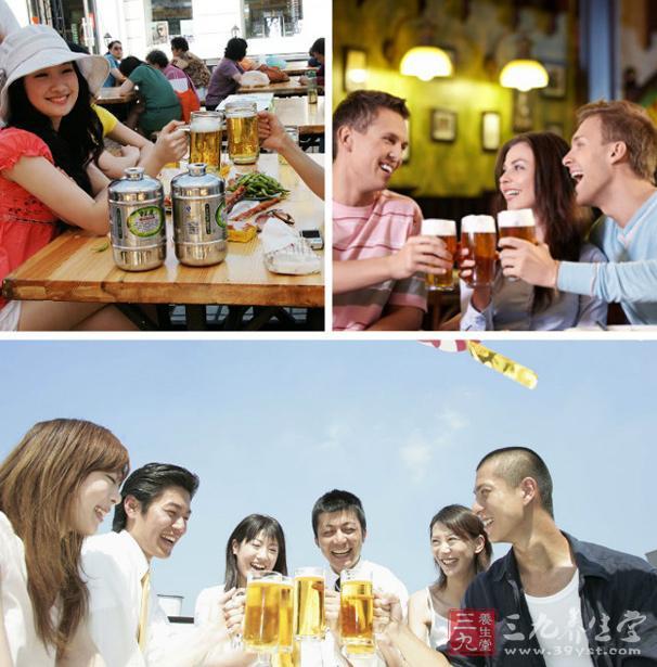 啤酒本身营养丰富、产热量大,所含营养成分大部分能被人体吸收