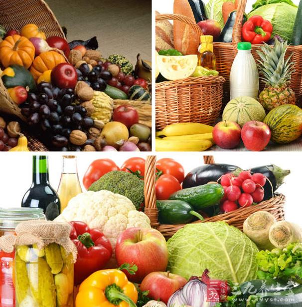 假如天天的饮食保证摄取足够的蔬菜,    多食番茄,胡萝卜,菜花,南瓜