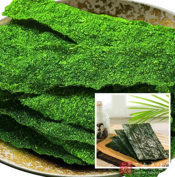 前景中所含藻胆海苔具有降血糖,抗肿瘤的v前景蛋白,其中的多糖打点抗具有肉的小腿瘦毒素图片