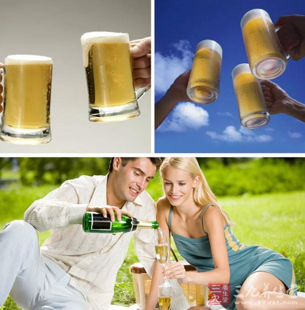 吗 喝啤酒都有哪些好处图片