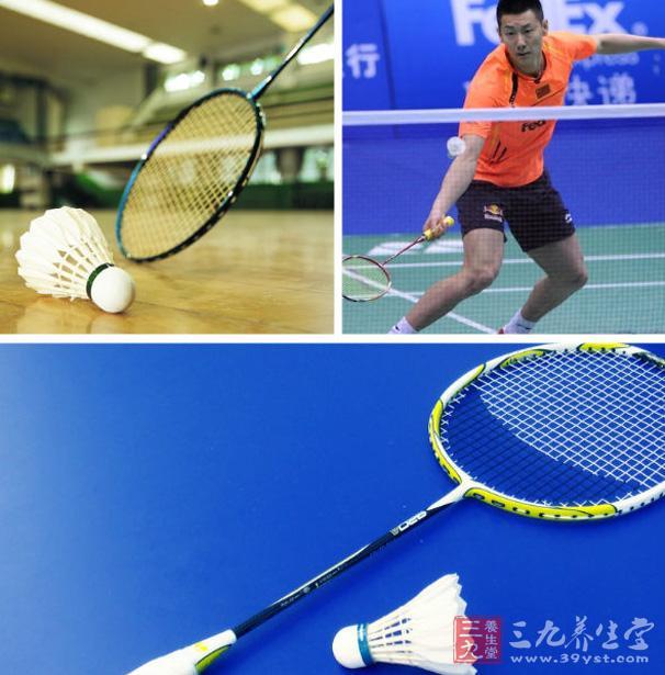 经常的进行打羽毛球的锻炼