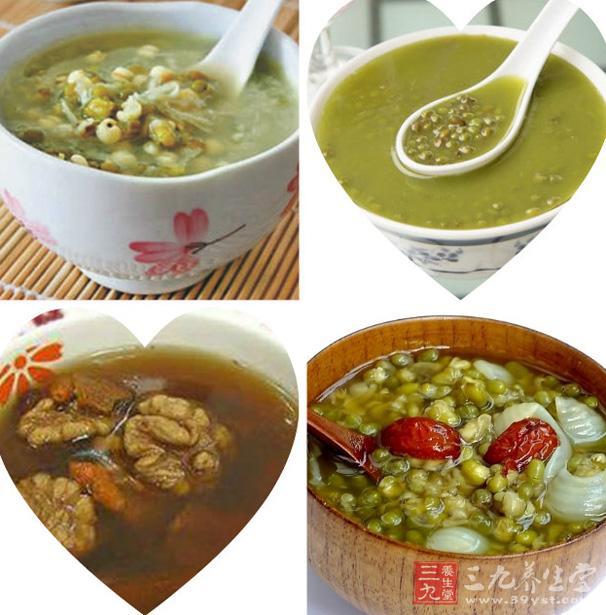 绿豆养生图片素材