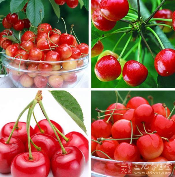 樱桃也含有丰富的胡萝卜素