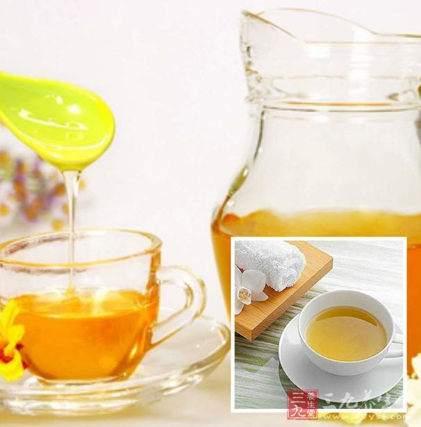 蜂蜜水可以缓解疲劳
