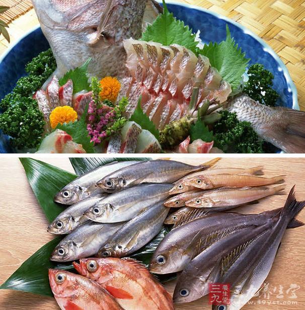如果曾有吃鱼而引起过敏症状的经验,那么最好避免太频繁吃海鲜类食物