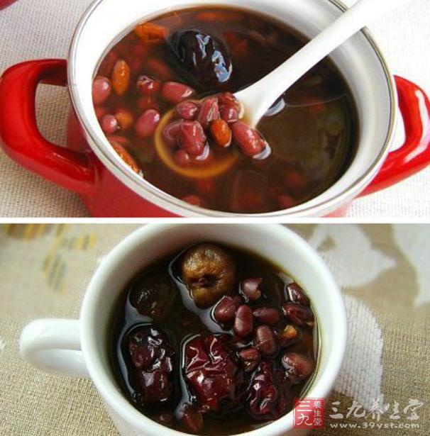 红枣煮汤止咳润肺