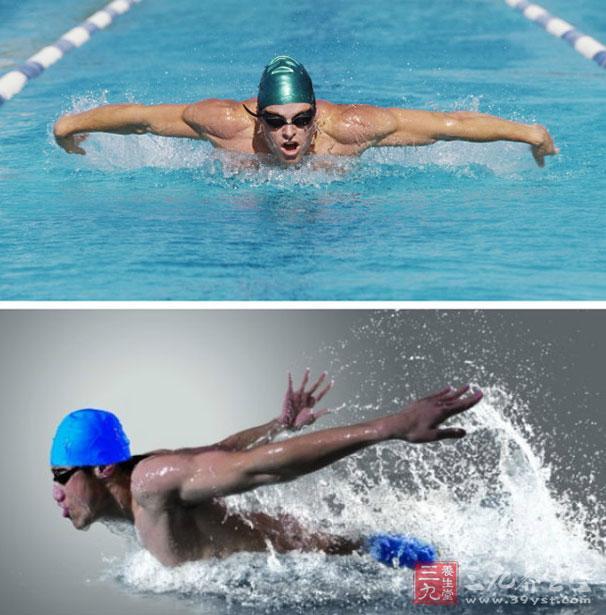 游泳技巧 新手如何學游泳圖片