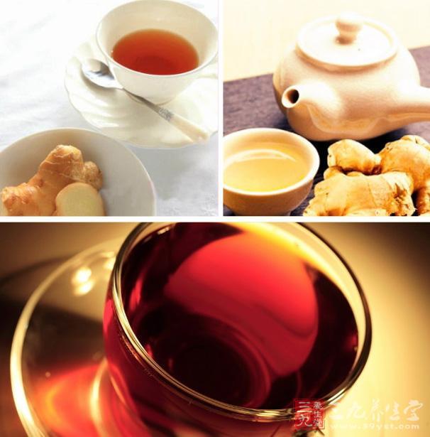 黑色香菇红茶的生姜叫什么图片
