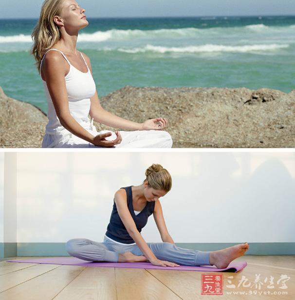 视频减肥朋友用大腿消灭粗奶昔吗瑜伽瑜伽有效减肥圈图片