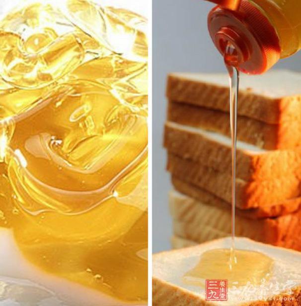 蜂蜜抹在面包上,营养不损失