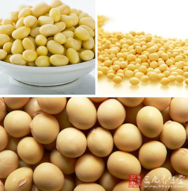 黄豆中含有多种人体必需的氨基酸和一些不饱和的脂肪酸