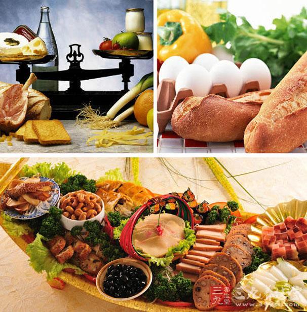 饮食均衡可以增强免疫力