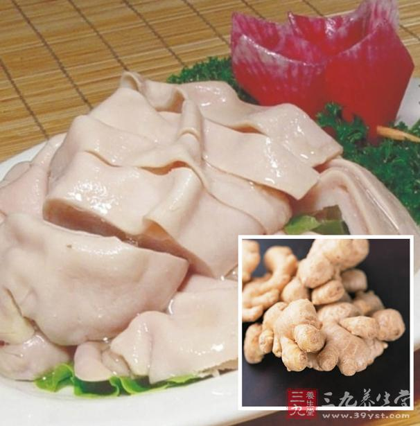 生姜250克,熟附片10克,猪肚30克,豆瓣10克,白糖15克,大蒜6克,盐6克,味贵港白砂糖图片