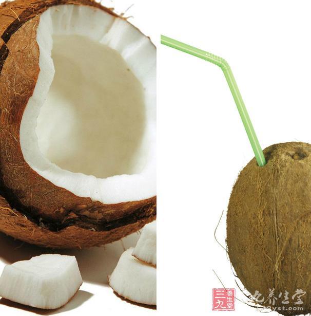 的功效,主治暑热类渴,津液不足之口渴;椰子壳油治癣,疗杨梅疮