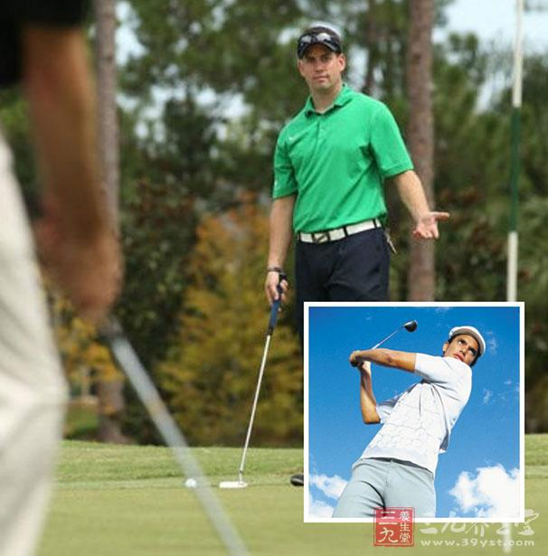 学打高尔夫球 高尔夫基本规则 高清图片