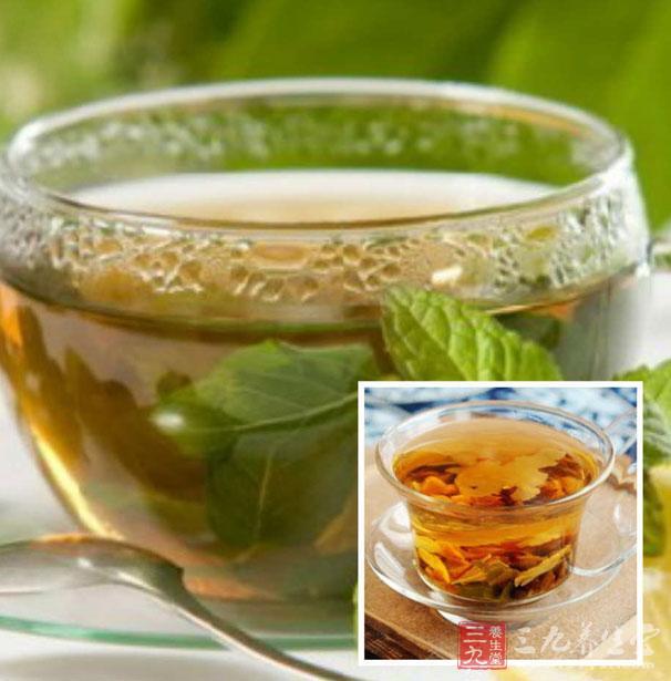 决明子10克,荷叶5克,山楂3克一起泡水当茶饮,可起到清肝明目,消脂图片