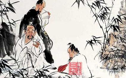 童国画竹子画法步骤