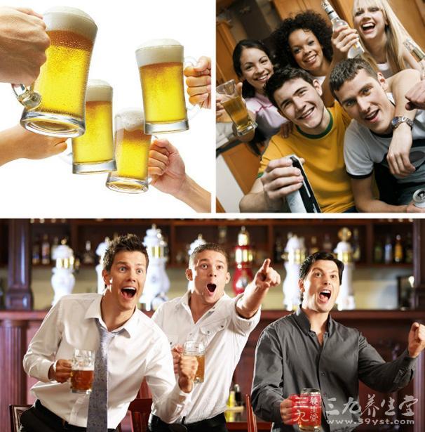 夏天喝啤酒警惕6种啤酒病