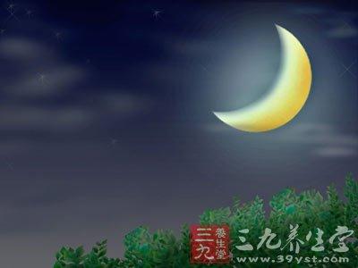 中医教你根据月亮盈亏养生图片