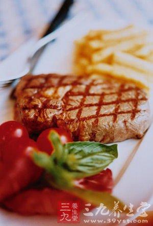 番茄牛排刨冰