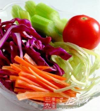 孕妇不宜过多吃青菜