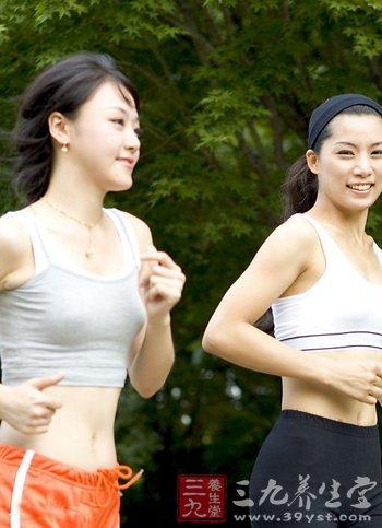 做梦减肥今天你跑了-三九养生堂慢跑手臂变瘦图片