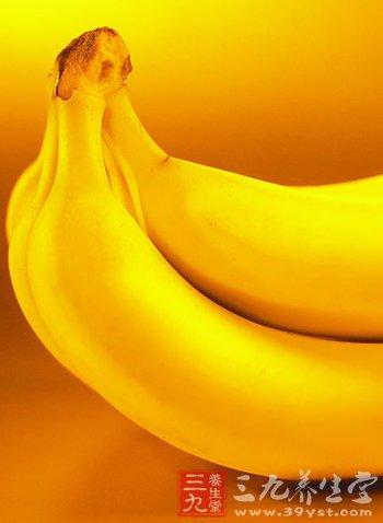 香蕉美容护肤功效大