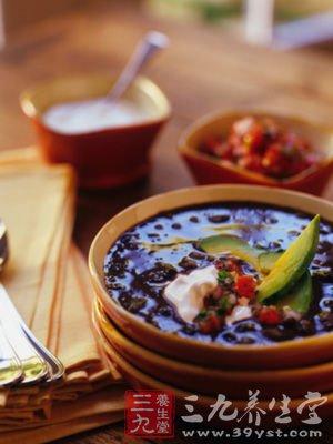 红白果仁汤