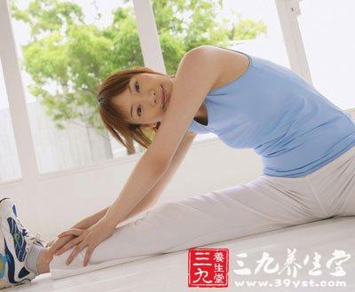 压腿减肥方法图解