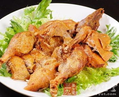 夏季v食谱食谱青椒沙参老鸭汤(4)-三九养生堂猪腰丝和百合丝怎么炒图片