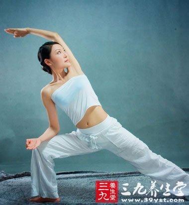 瑜伽练习 保持青春健康活力