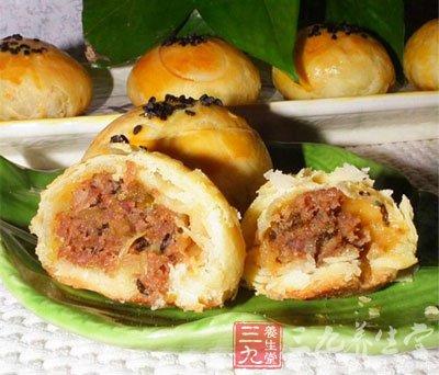 DIY苏式鲜肉月饼
